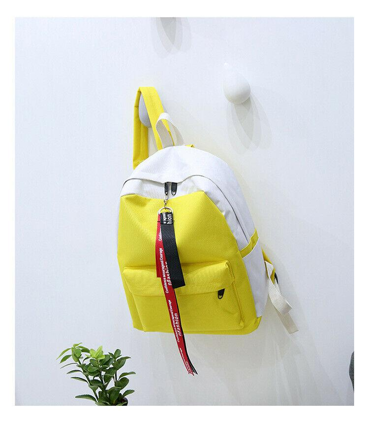 New Women Bag Girl Lady Leather Travel Backpack Satchel Rucksack Laptop School Bag High Quality Waterproof