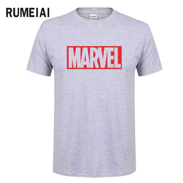 68180c0b New Fashion Marvel Short Sleeve T Shirt Men Superhero Print T Shirt O Neck  Comic Marvel Shirts Tops Men Clothes Tee SN6 T Shirts In A Day Awesome Tee  Shirt ...
