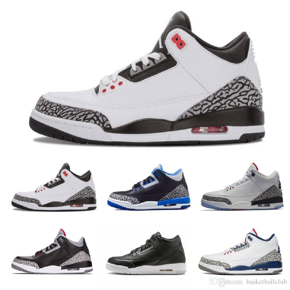 ced13b2a0d20b4 2019 2019 Basketball Shoes 3s 3 Mens Tinker Sneakers Mens University Red  Black Cement White Blue He Got Game Sport Blue Outdoor Sport Shoes From ...
