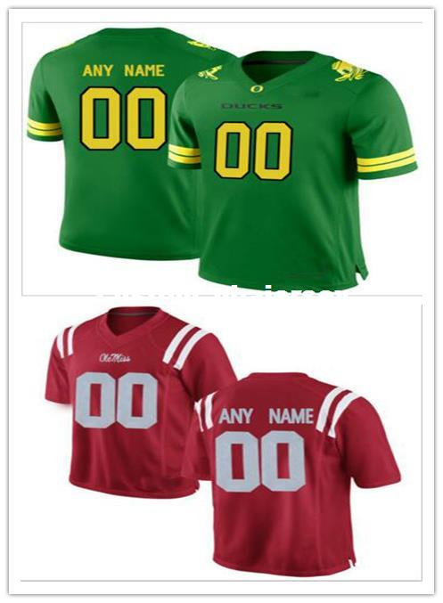 buy online 87ae0 f4f7b Cheap custom Oregon Ducks Men's College football jersey Customized Any name  number Stitched Jersey XS-5XL