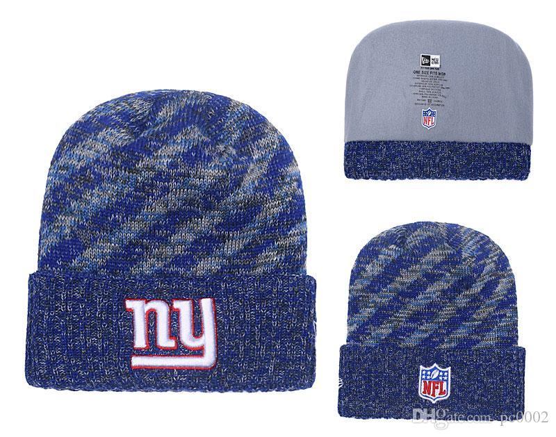 d6405a1752f567 Men's New York Giants New Royal 2018 Sideline Cold Weather Official ...