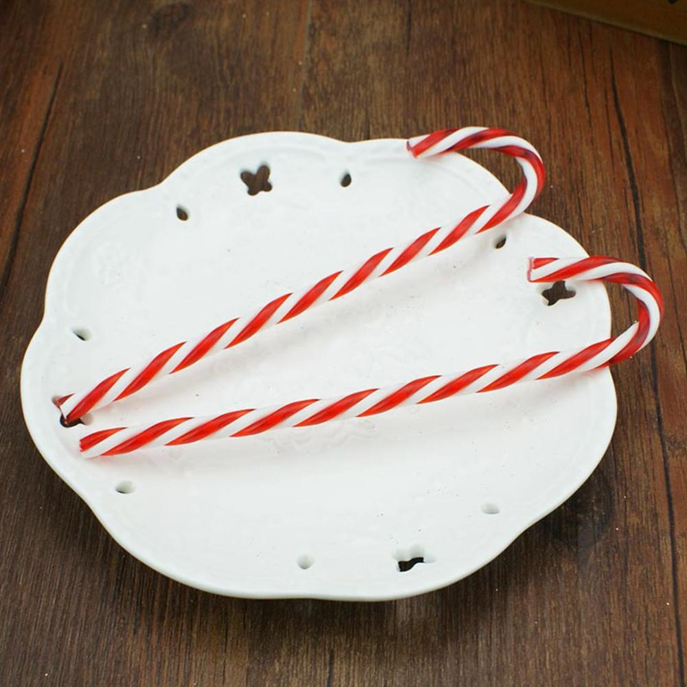 15PCS Candy Canes Candy Pendant DIY Decoration Ornament Pendant Festival Party Decoration Gift