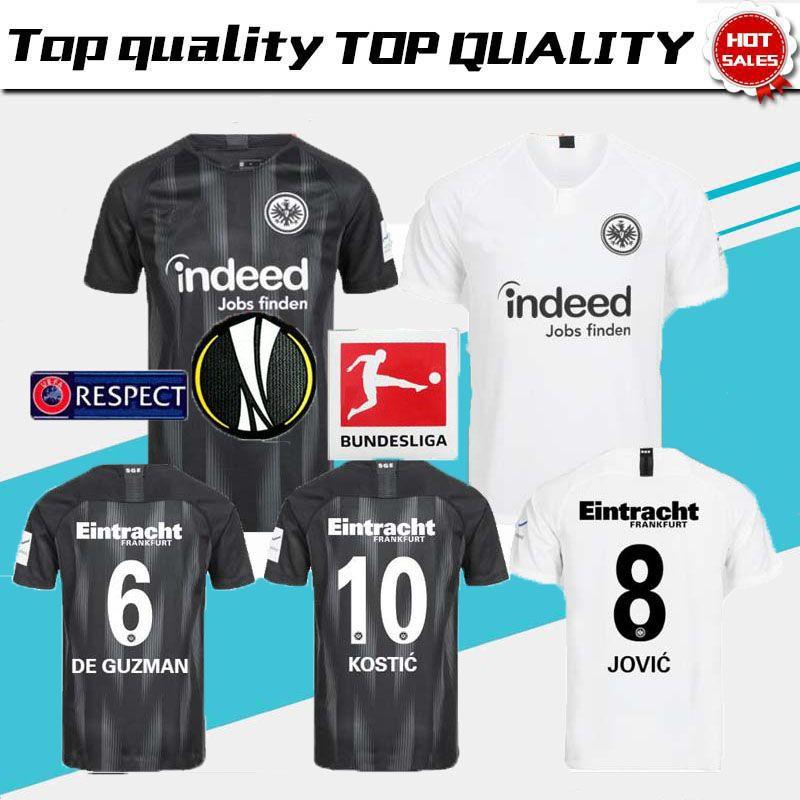 aedcaa6c145 Top Quality 2018 2019 Eintracht Frankfurt Fußball AG Jersey 18 19 ...