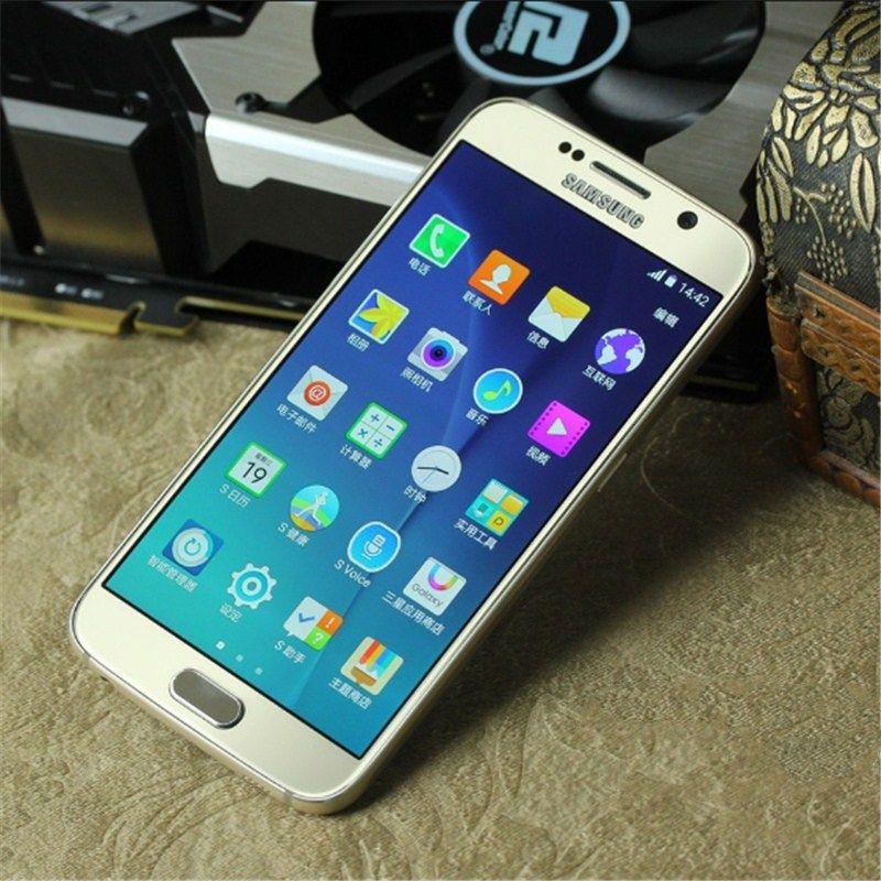 Refurbished Original Samsung Galaxy S6 S6 Edge G920A G920V G920F G925A G925F 5.1 inch Octa Core 3GB RAM 32GB ROM 16.0MP Camera 4G LTE DHL 5p