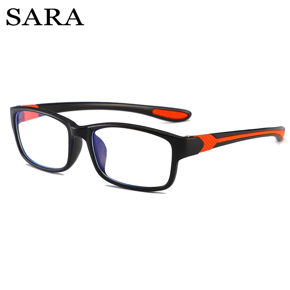 080b9aec948 SARA Anti Blue Light Reading Glasses Women Men Clear Eyeglasses ...