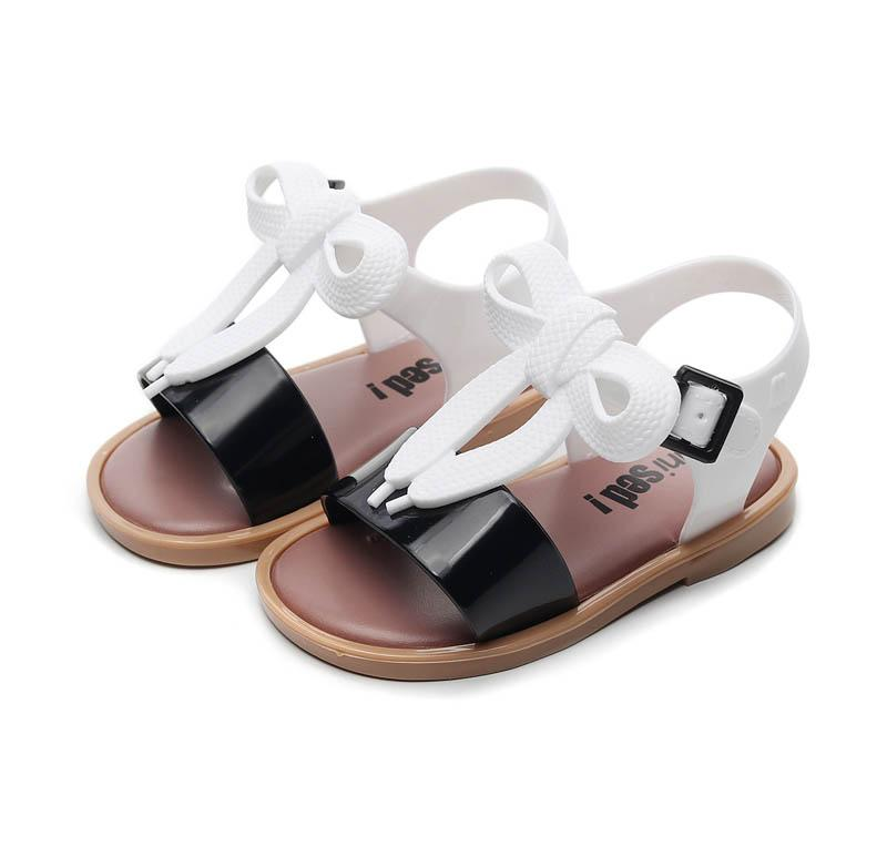 New kids shoes girls shoes kids girls sandals Summer bows princess Jelly Sandals children shoes kids Beach Sandals girls slippers A5668