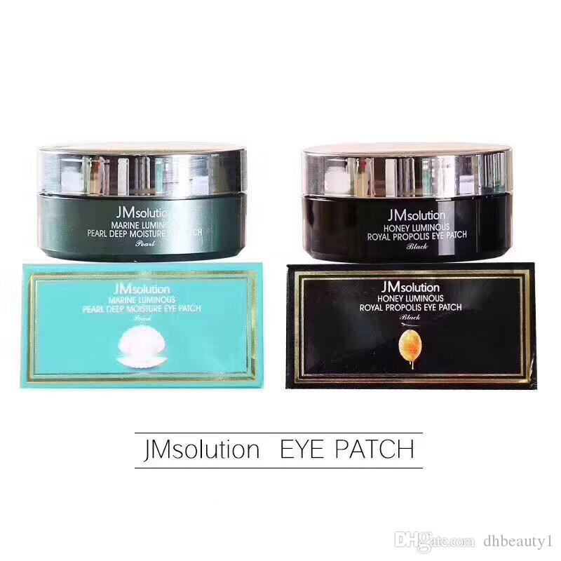 JMSolution Eye patch Marine Luminous Honey bright pearl Deep Umidure Eye Mask Marchio coreano 60 pz / pacco