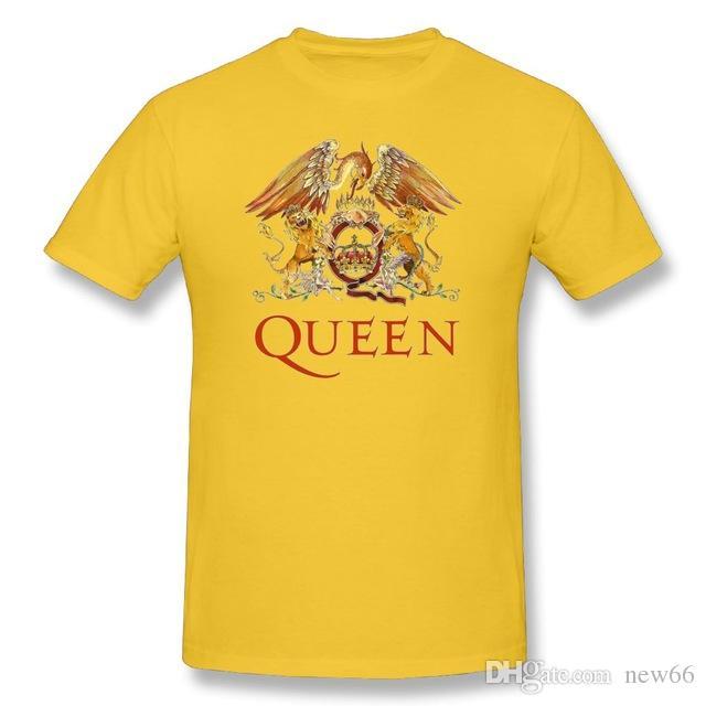 Mens Luxury Brand Designer T Shirts Queen Band Rock T Shirt LOGO ... 60c2285ab433