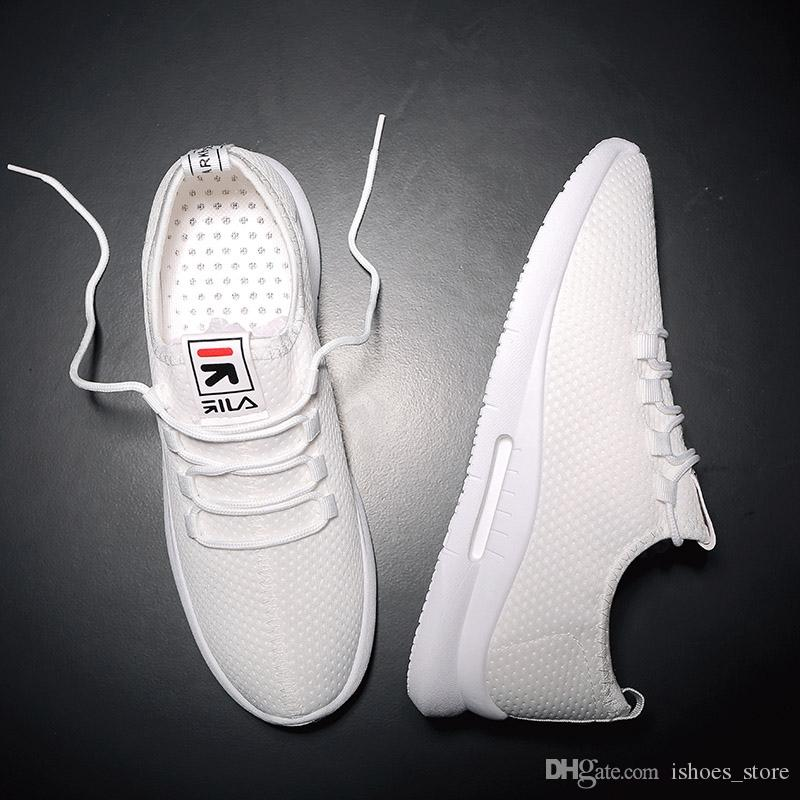 9e90c17ddfc64 BomKinta New Deodorant Breathable Mesh Men Casual Shoes Korean Version Shoes  Men White Male Sneakers Red Lace Up Footwear #6428 White Mountain Shoes ...