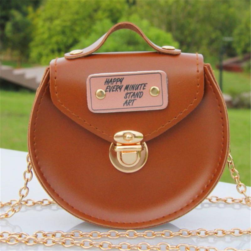 Cheap Women PU Leather Chain Mini Crossbody Bags Round Shoulder Bag  Protable Handbags Female Circle Chain Mini Messenger Bags Womens Purses  Leather Bags For ... 278c7f1937bee