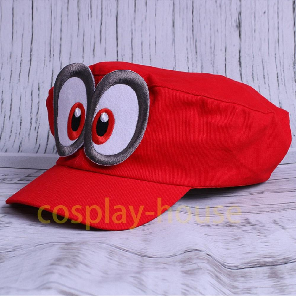 Acquista Costume Cappello Super Mario Hat Red Odyssey 2017 Nuovo Mario Cap  Wearable Berretti Da Baseball Unisex Costume In Cotone Regolabile Halloween  Party ... 3e5db79646b8