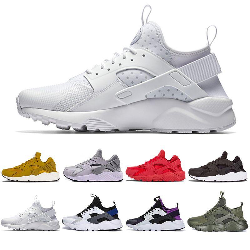 6806f38a6ff3 Cheaper New Air Huarache 4.0 1.0 Men Women Running Shoes White Ultra ...