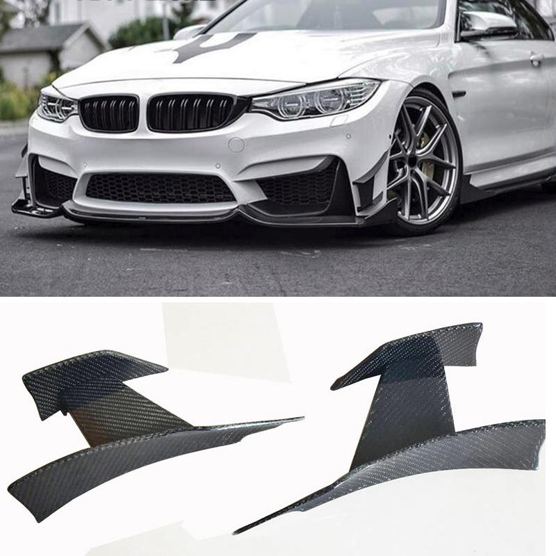 Ma 0d Style Carbon Fiber Front Bumper Wind Knife For Bmw M3 M4 F80