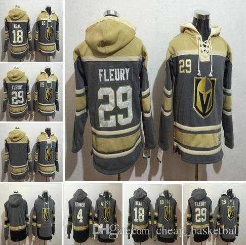 2019 2018 Mens Vegas Golden Knights Hoodies Hockey Jersey 18 Neal 4 Clayton  Stoner 29 Marc Andre Fleury Sweatshirts Winter Jacket S 3XL From ... 98de0c3ca