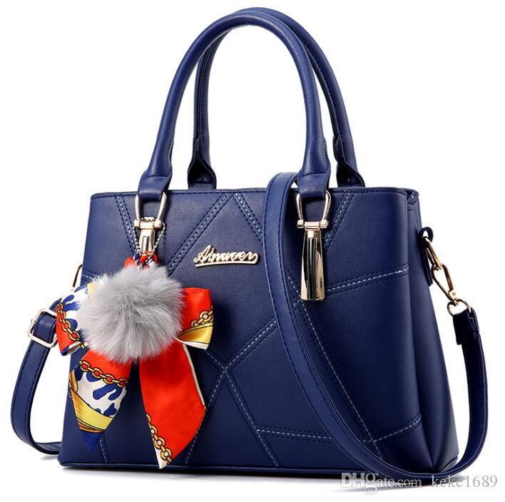 1603da332686 New Famous Brand Designer Fashion Women Bags Luxury Bags Jet Set Travel Lady  PU Leather Handbags Purse Shoulder Tote Female Black Handbag Fashion Bags  From ...