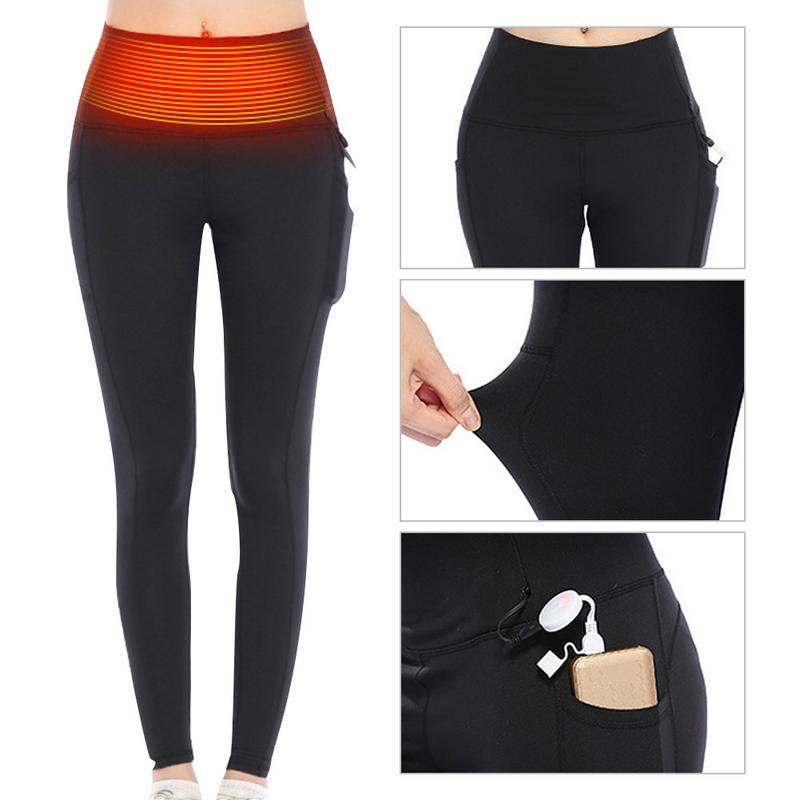 129467ca8e14c 2019 Smart Electric Heated Pants USB Charging Heated Clothing Burning Fat  Slimming Fitness Pants Winter Warm Leggings From Portnice, $59.6 |  DHgate.Com