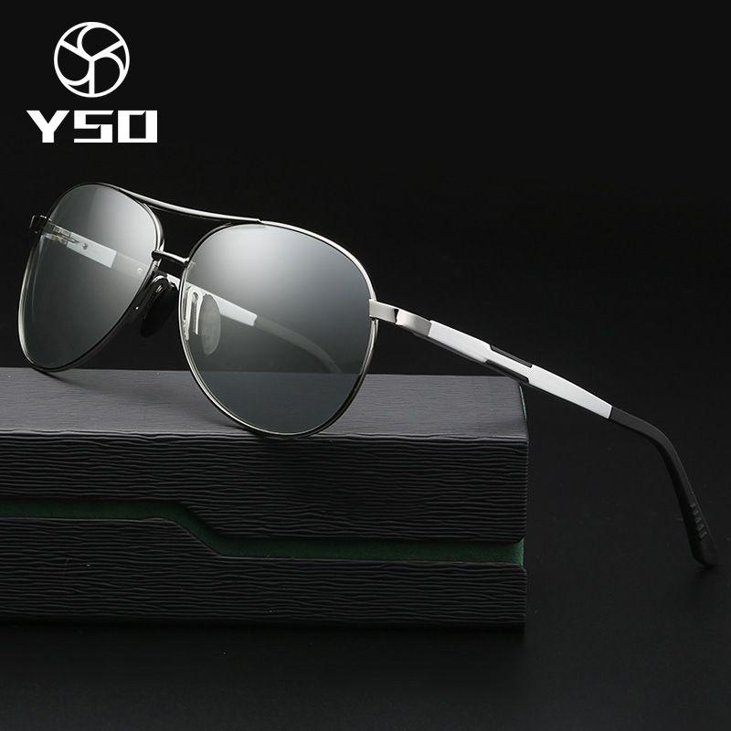 bad653eb88 Compre YSO Gafas De Sol Fotocromáticas Para Hombres Gafas ...