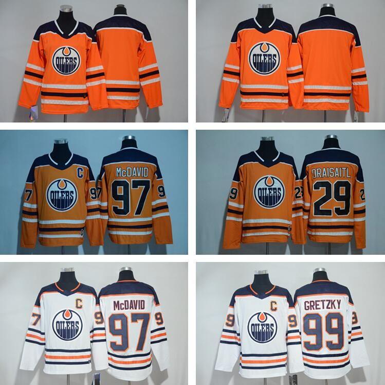 Edmonton Oilers Connor McDavid Jersey 97 College Otters Premier OHL ... 590d2284e