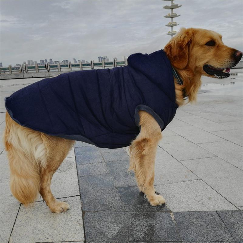 Big Dog Coat Jacket Large Dog Clothes Winter Samoyed Golden