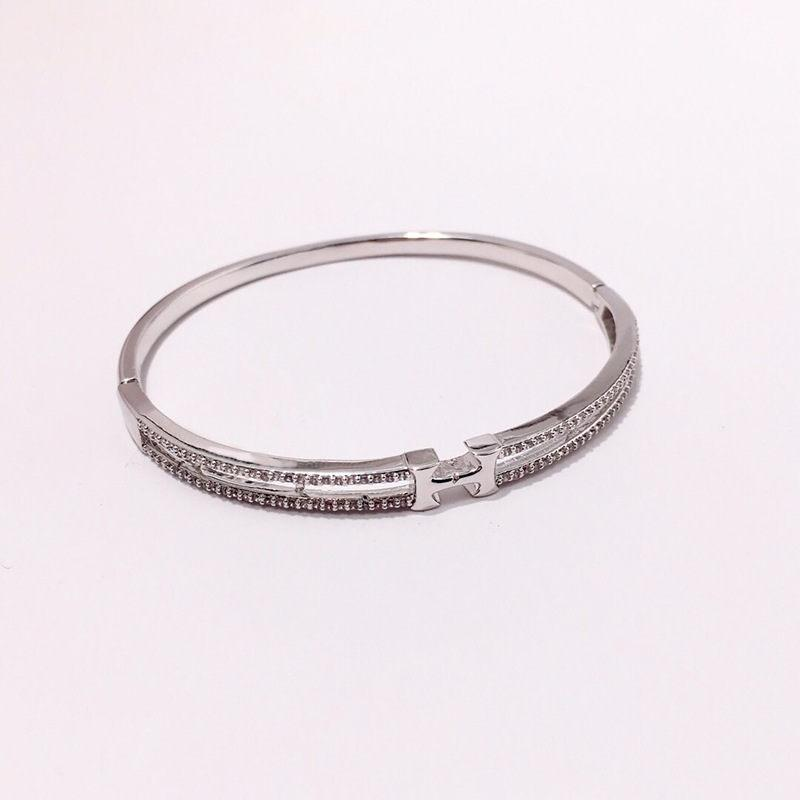 Fashions Brand H Bangles Womens Luxury Hip Hop Diamond Bracelet Girl  Rhinestone Bracelets Fine Jewelry Party Gifts Baby Gold Bangle Bracelet  Silver Mens ... 14fc40eb0
