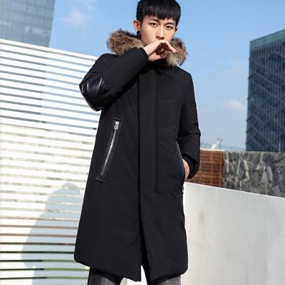 eb51ce3e1e 019 Thicken Warm Canadian goose Winter Duck Down Jacket for Men down jacket  men's overcoat foreign minister coat.