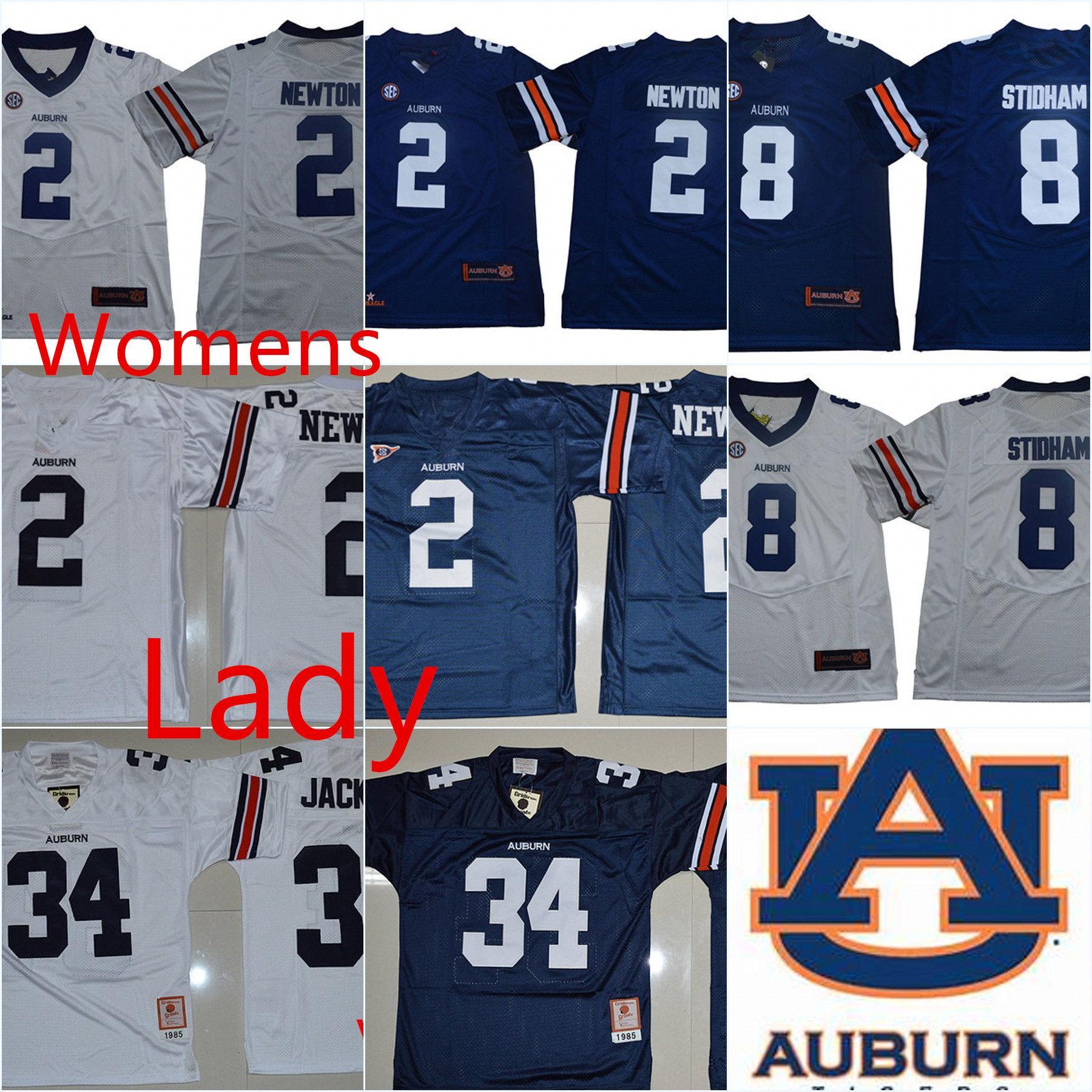 6b3afad0d25 Womens NCAA Auburn Tigers  8 Jarrett Stidham College Football Jersey ...