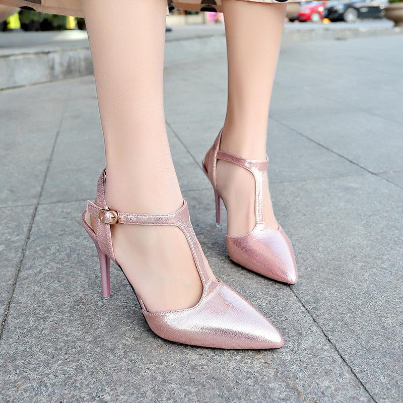 17b9cb8320 Dress Shoes Korean Version Of Women'S Pointed Word With Fashion Women'S  Female 2019 Spring New Stiletto Heels Red Shoes Mens Slippers From Deals8,  ...