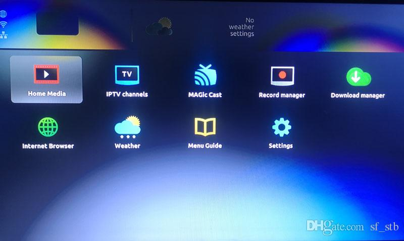 New MAG250 & Wireless antenna Linux System streaming Home Theatre Sysytem  TV Box Linux TV Box Media Player MAG 250 Same as MAG322