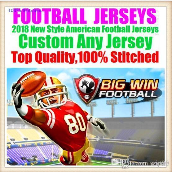All Stitched Custom american football jerseys Tampa Bay Dallas college authentic cheap baseball basketball hockey jersey 4xl 6xl 8xl purple
