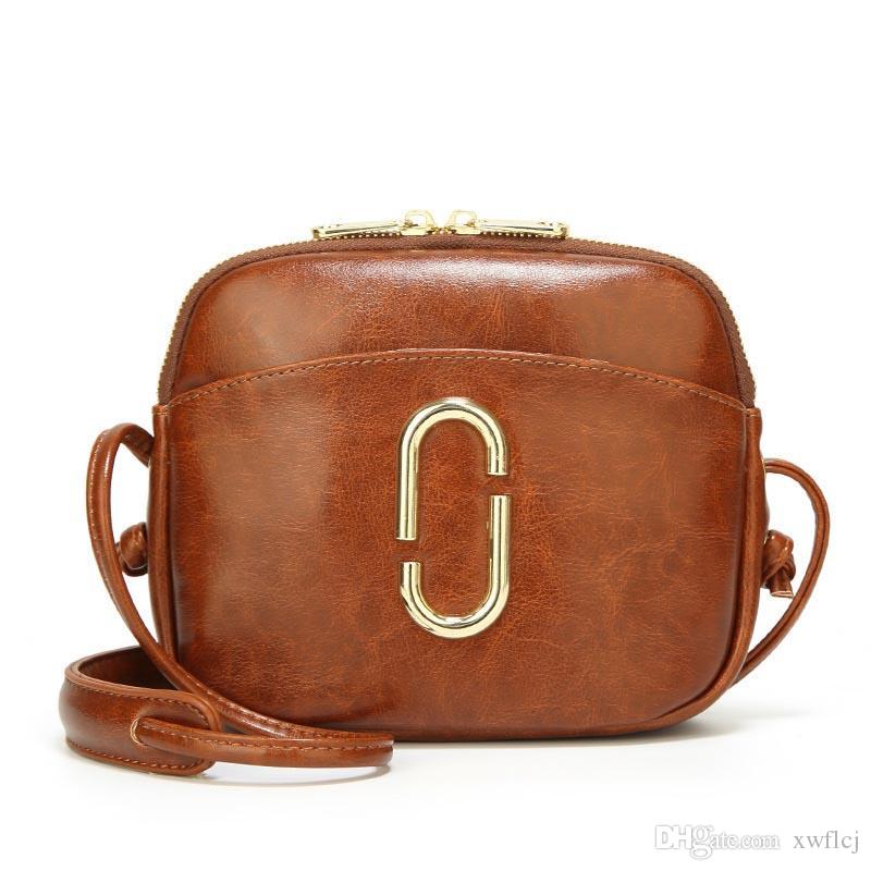 74559526a8 2019 New Hot Sale Shell Bags For Women Casual Mini Color Collision  Messenger Bag For Girls Zipper Pu Leather Shoulder Bags Leather Backpacks  Shoulder Bags ...