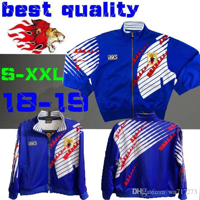 a2b5baf34 Retro 1994 Japan Soccer Jacket Retro 94 Football Japanese Coat Training  Suits Jacket Blue S-2XL Jersey Online with  41.43 Piece on Wu717273 s Store  ...