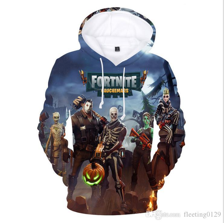 7a55a667858 2019 2018 New 3d Printed Fortnite Hoodies Pullover Plus Size 4XL O Neck  Hooded Funny Sweatshirts Men Colorful Men Hoodies Sweatshirts From  Fleeting0129