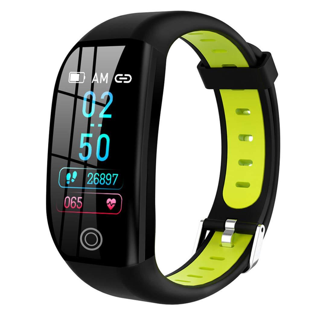 2019 F21 Smart Bracelet For Android IOS Sports Fitness Calorie Wristband Wear Smart Watch Ladies Men's Watch Heart Rate Monitor