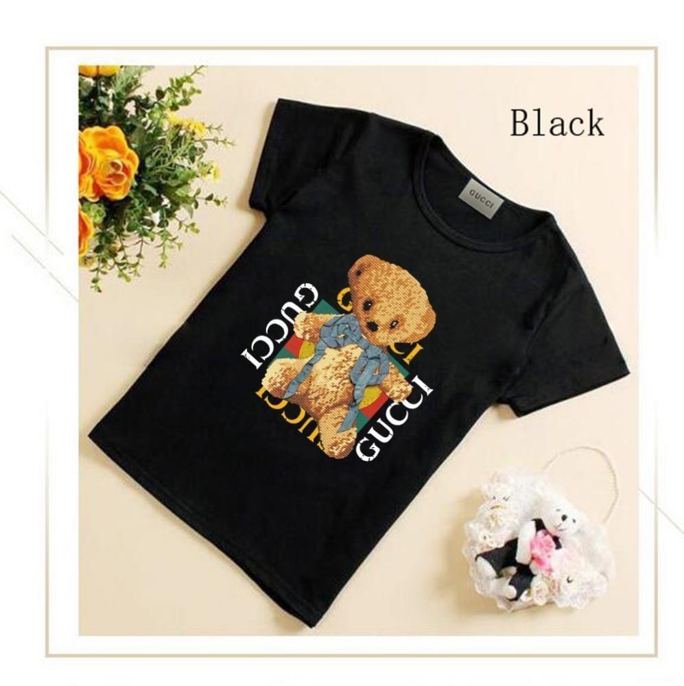 9bd656e1 Spring Paragraph Pure White Short Sleeve T Cute Bear T-shirt Female ...