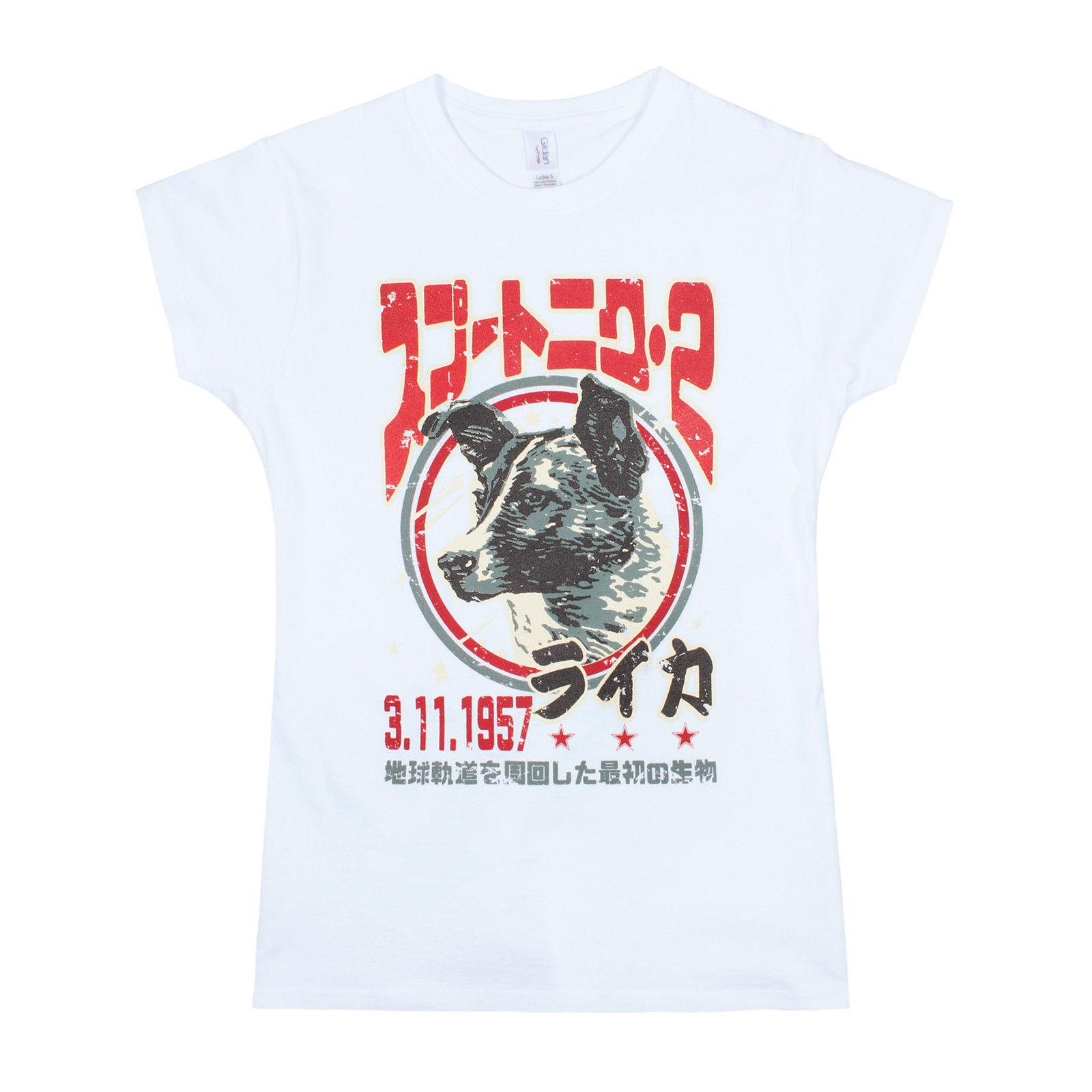 efd203cd Laika The Space Dog T Shirt Japanese Womens Cattt Windbreaker Pug Tshirt  Trump Sweat Sporter T Shirt Fan Pants T Shirt Crazy T Shirt T Shir From  Appcup, ...