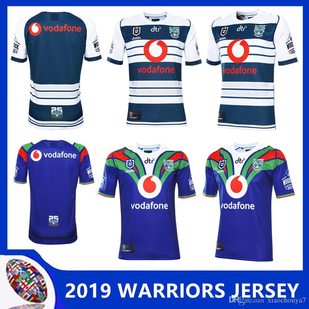 best sneakers d93b1 eb186 2019 New Zealand WARRIORS 2019 HOME JERSEY WARRIORS 2019 MEN'S HERITAGE  JERSEY 18 19 top quality 9S men rugby shirts NZ Warriors shirts