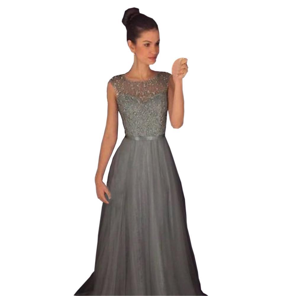 856d31ac50a6 Acquista 2019 Poleras De Mujer Moda Donna Formale Da Sposa Damigella  D onore Abito Da Sera Lungo Elbise Casual Vintage Sukienki Vestidos Sexy A   22.59 Dal ...