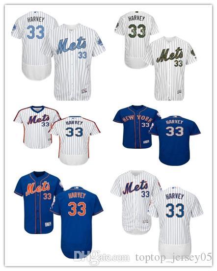 pretty nice 21be4 2e7f3 2018 New York Mets Jerseys #33 Matt Harvey Jerseys men#WOMEN#YOUTH#Men's  Baseball Jersey Majestic Stitched Professional sportswear