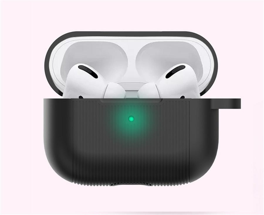 Lusso Moda PC duro per Airpods pro per Apple Airpods 3 per cialde Air 3 10 colori