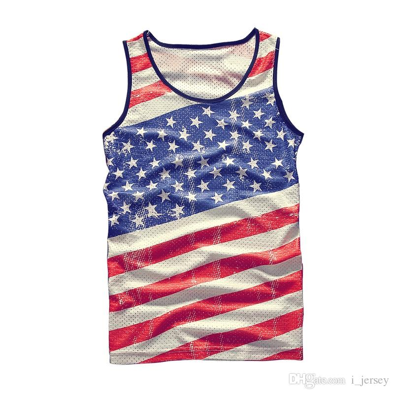 0bf57f2601853 New 2018 Tank Top Breathable Summer Fitness Sleeveless Leisure ...