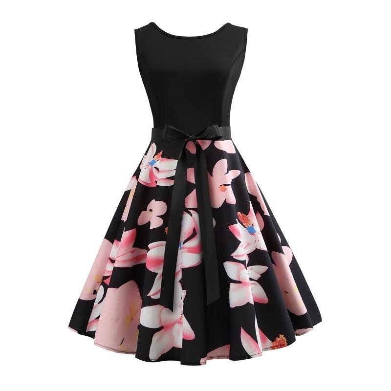 Vestido De Fiesta Para Adolescentes Vestido De Nina Para Ninos Vestido Estampado De Flores Ropa De Verano Vestidos De Baile Vestidos Vestidos De Mujer
