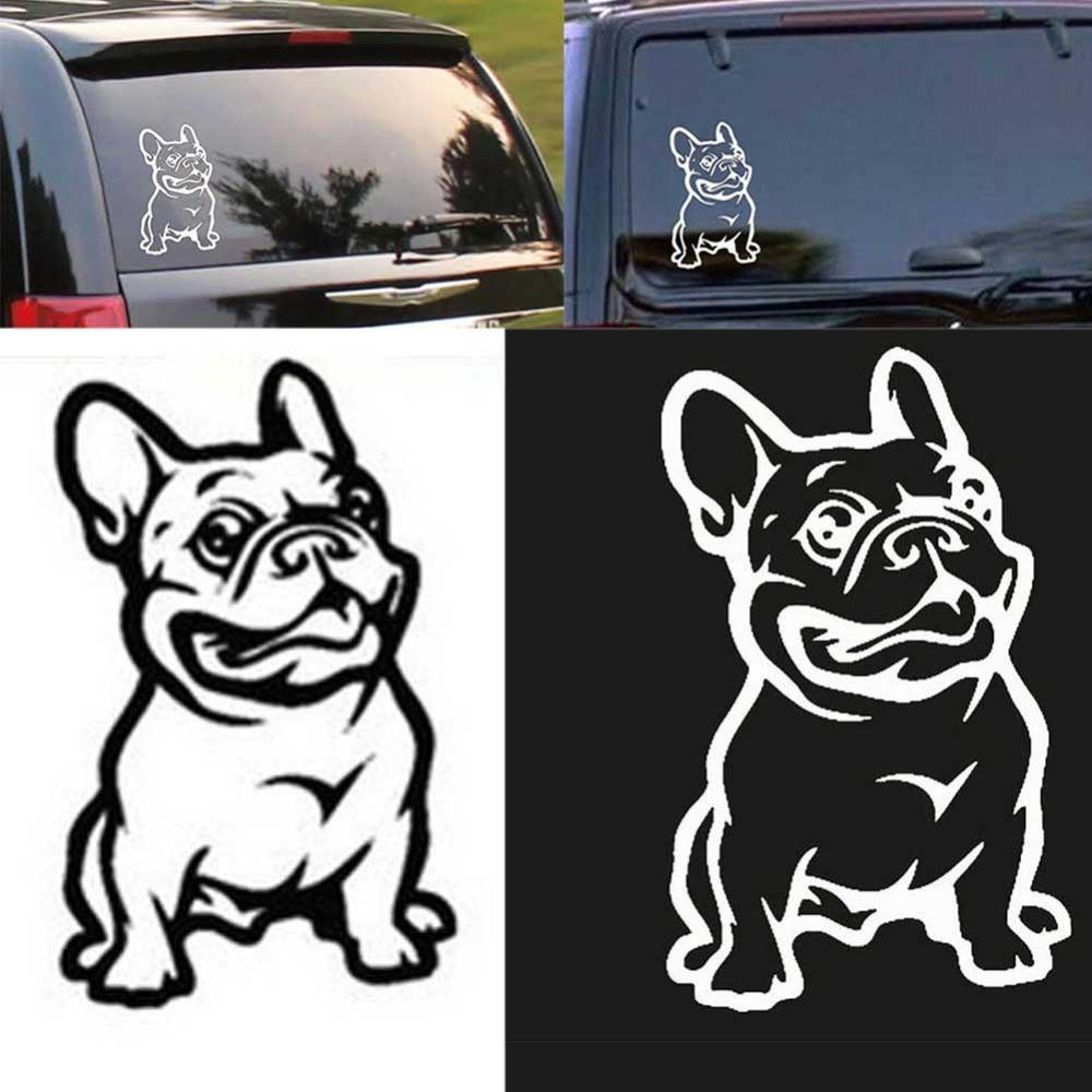 2019 new strong adhesive 3d stickers french bulldog dog car sticker vinyl cars decal custom window door wall sticker from xiaopingguoma 5 03 dhgate com