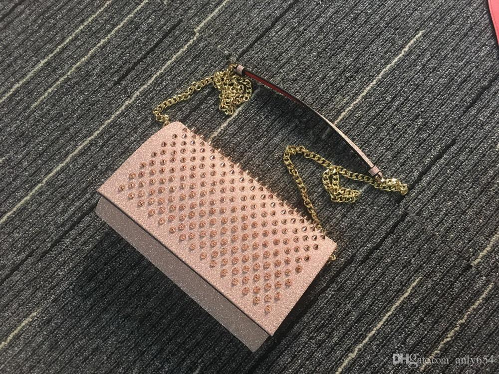 sacchetto di modo di lusso rivetto donne personalityhead profilature di arresto spalla busta borsa di strada vera pelle borse borsa testa tendenza