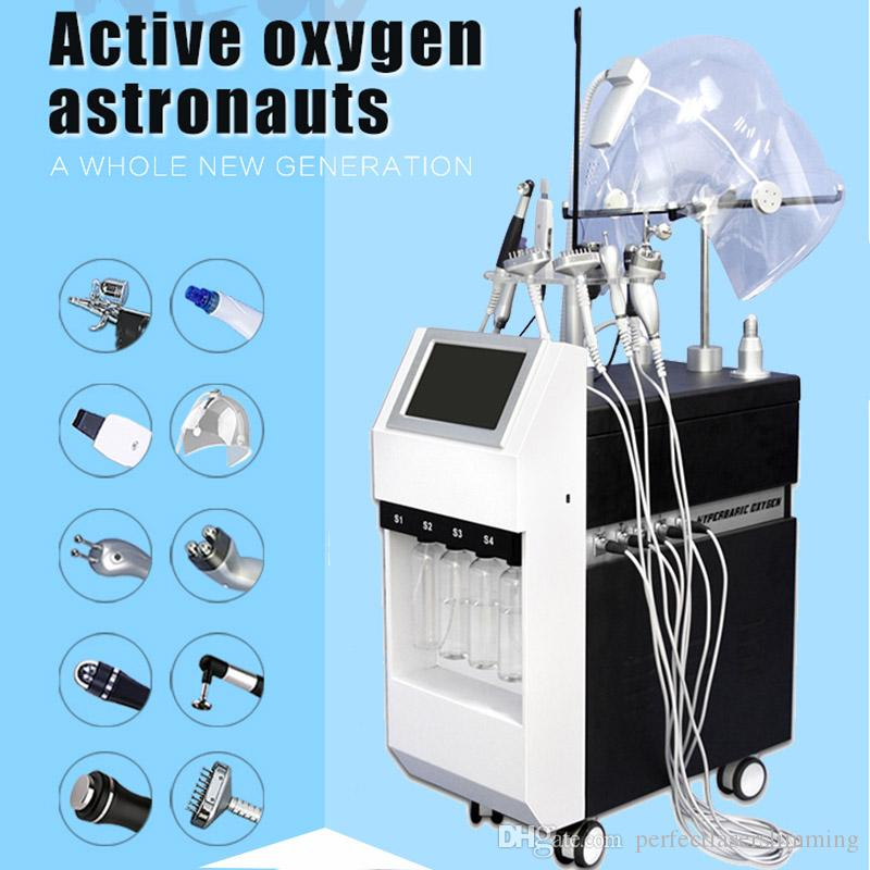 Hydrafacial dermabrasion machine Oxygen care Diamond Microdermabrasion facial peeling BIO Face Lift Ultrasonic Machine Deep Cleaning Oxygen
