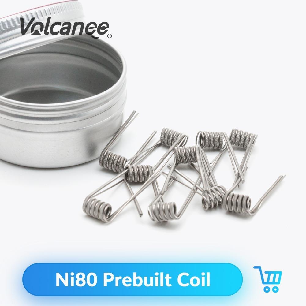 volcanee ni80 nichrome alien v2 parallel fused clapton prebuilt coil