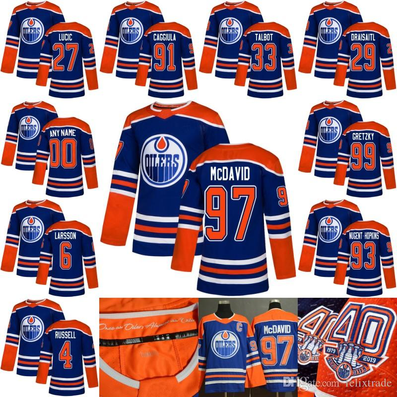... denmark with 40th anniversary 1979 2019 patch edmonton oilers retro  jersey connor mcdavid ryan nugent hopkins d7f513821