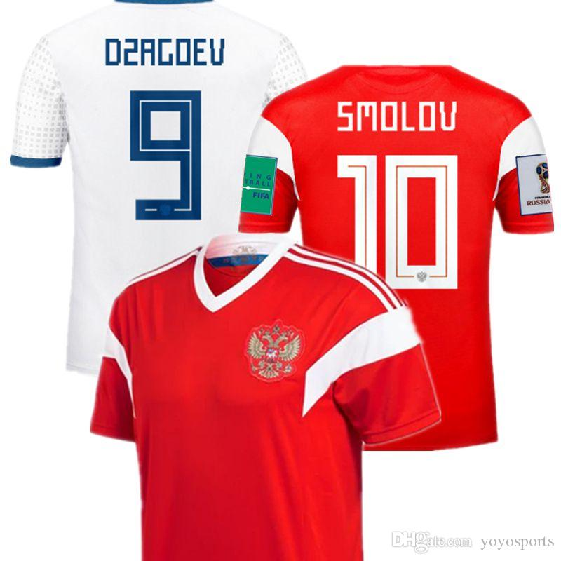 finest selection 9e28a f8f1c World Cup 2018 Russia Home Away Soccer Jerseys Smolov Futbol Camisa  National Football Camisetas Shirt Kit Maillot