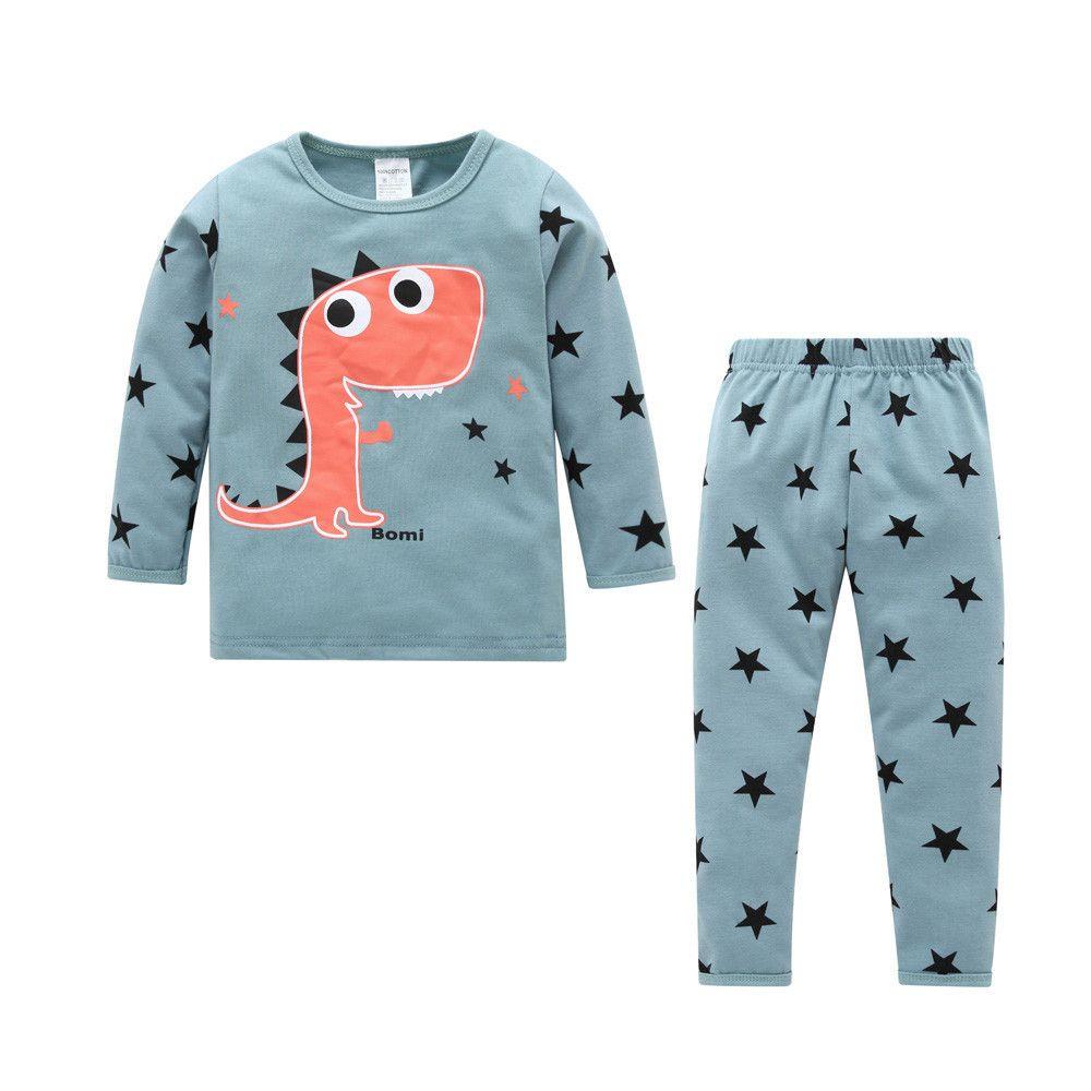 52507f36a73d 2019 Good Quality Fashion Baby Clothes Kids Clothing Girls Dinosaur ...