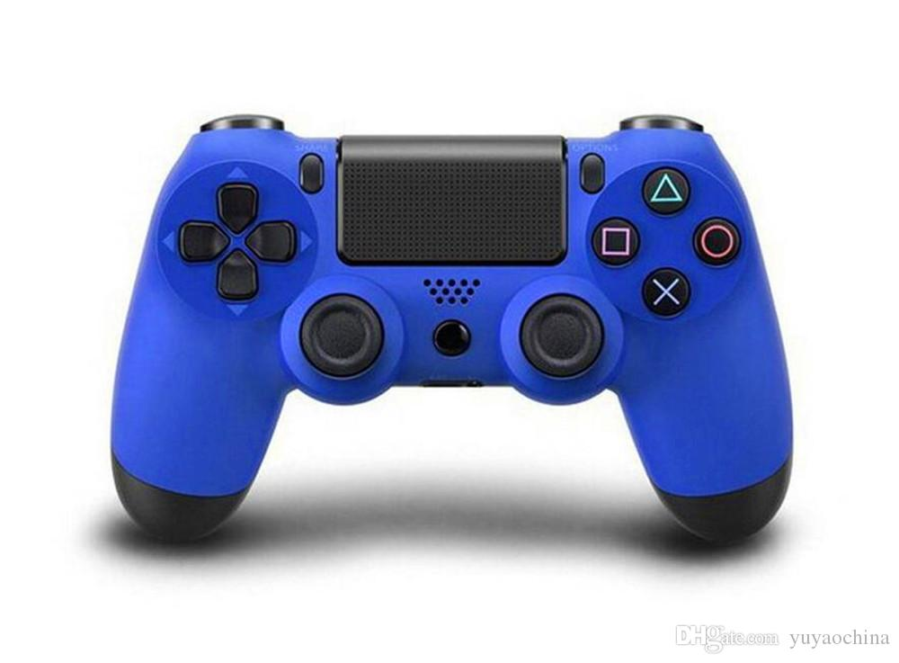 Bluetooth Wireless PS4 Controller For PS4 Vibration Joystick Gamepad PS4 Game Controller Multi Color etc Free