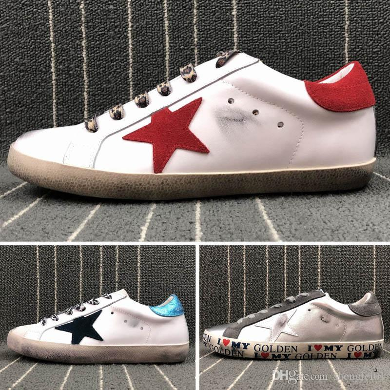 New Luxury Brand Designer Shoes Golden Goose Old Style Sneakers ... 60d96eb8f874